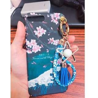 🚚 Iphone7plus iphone8plus日系吊飾手機硬殼