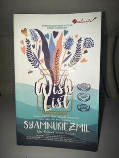 Novel - Wishlist, Syamnuriezmil #APR10