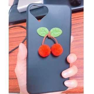 🚚 Iphone7plus iphone8plus 立體軟萌櫻桃手機軟殼