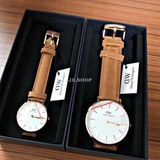Daniel Wellington Couple Durham Watches (Classic/Classic Petite)