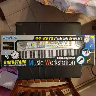 Canto 44-Keys Electronic Keyboard (Toy Piano)