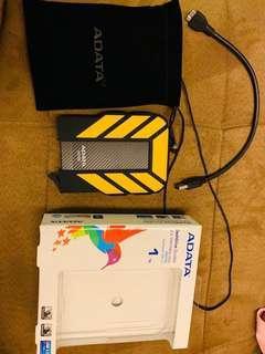 🚚 Adata 威剛 1 TB 2.5吋 式 外接 式 硬碟 HDD hard drive 1000gb