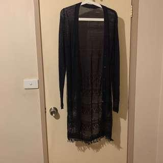 Long Nave Cardigan or Cover Up