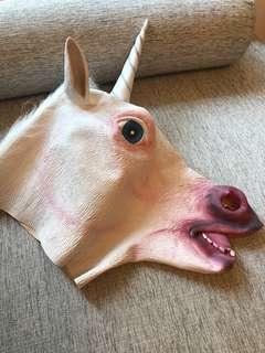 Unicorn 獨角獸頭套