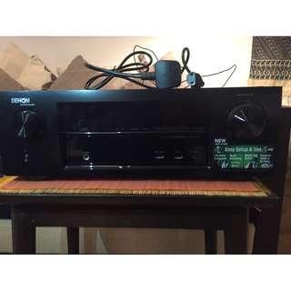 Denon Multimedia Amp & Receiver AVR-X1000