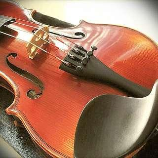 Good sound quality 1/4 Size Violin From Synwin + German Bow+ Shoulder Rest