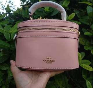 Original coach x gomez trail bag pink