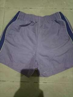 Celana Pendek ungu anak athletic works size 7/8