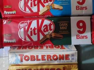 Kitkat Dark Mint 9 bars