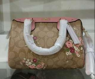 Original coach bennet floral bag