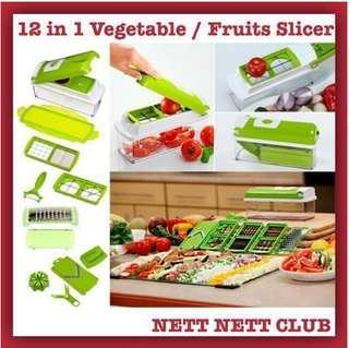 🚚 *NEW!* - 12 in 1 Magic Slicer / Nicer Dicer PLUS / Kitchen Friendly /