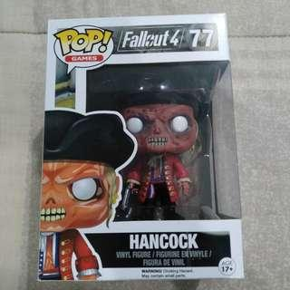 Legit Brand New With Box Funko Pop Games Fallout 4 Hancock Toy Figure
