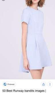 🚚 RWB Powder Blue dress