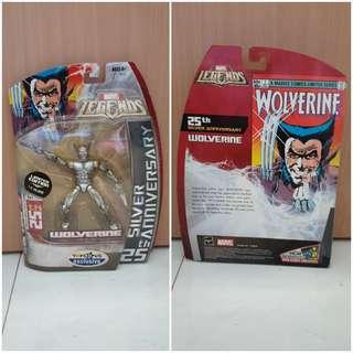 MOC Marvel Legends 25th Silver Anniversary Wolverine