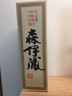 森伊藏 本格燒酎 720ml 有盒 芋燒酎 燒酒