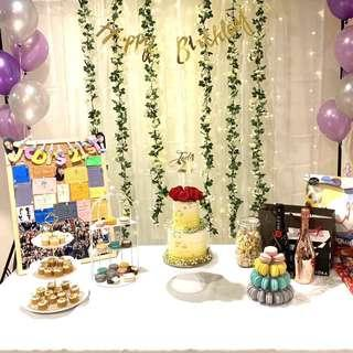 [Rental] Birthday party table / Event related