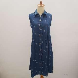 Maternity Jeans Dress