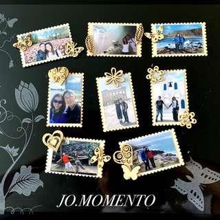 Customised Handmade Mini Photo Magnets