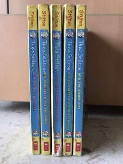 🚚 thea stilton books