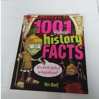 9781848580077 1001 Hideous History Facts By (author)  Alex Woolf