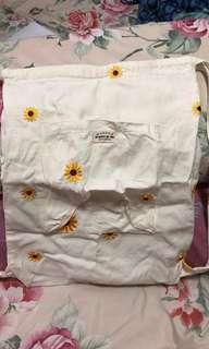 LARGE Sunflower big backpack #EndgameYourExcess