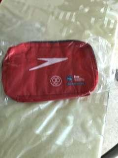 Speedo water proof pouch.