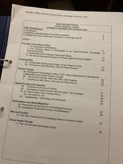 🚚 RI JC School Notes & More