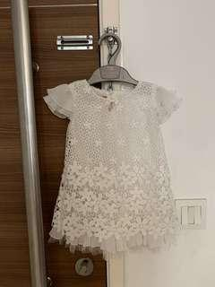 White Baby Dress (also for Baptism/Christening)