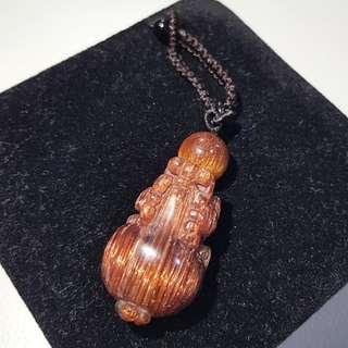 铜发 貔貅 顺发球 Copper Rutilated Crystal Pixiu & Ball