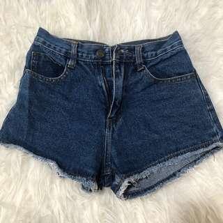 🚚 Denim High Waist Shorts #1