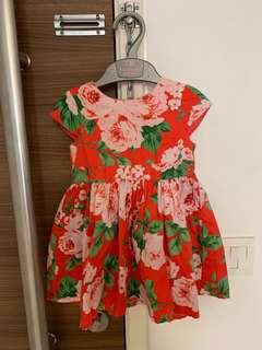 🚚 Carter's Floral Dress