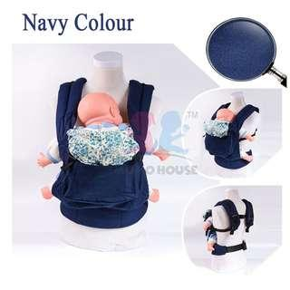 6ace7541dad Baby Toddler Kids Ergonomic Breathable Adjustable Carrier with Hood Dukung  Bayi