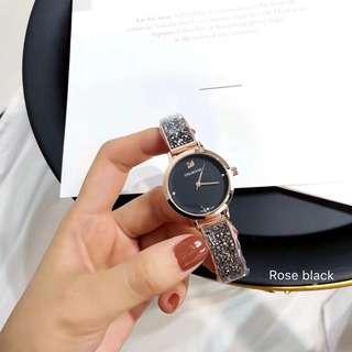 Swarovski bangle full crystal watch