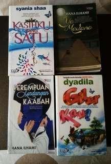 Malay Books/Novels (Used)