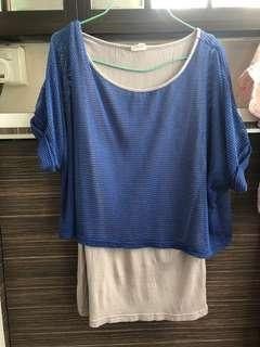 🚚 Blue Top