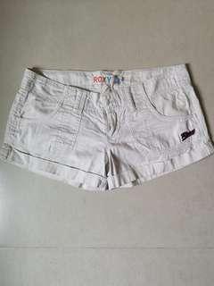 一口價古著 Roxy 白色短褲