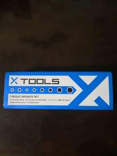 X-ToolsEssential Torque Wrench Set