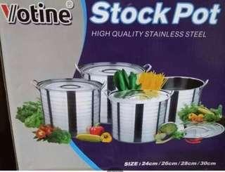 Stock Pot (4 pots of different sizes)