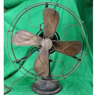 古老大上海華生銅葉大風扇 Antique Fan