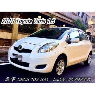 2010 Toyota Yaris 1.5