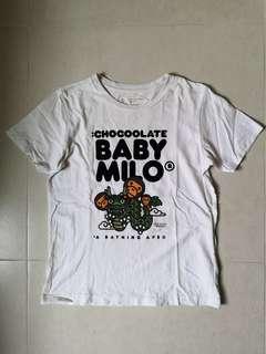 古著 極罕BAPE Baby Milo x Chocolate Tee 女裝短袖Tee