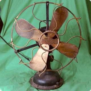 古老西洋銅葉風扇 Antique Fan