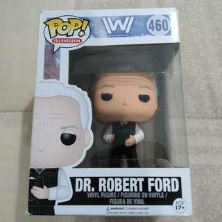 Legit Brand New With Box Funko Pop Television Westworld Dr. Robert Ford Toy Figure