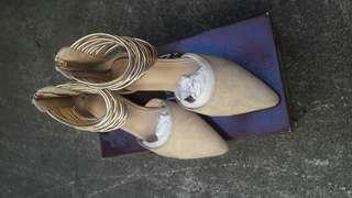 Parisian Elegant Doll Shoes