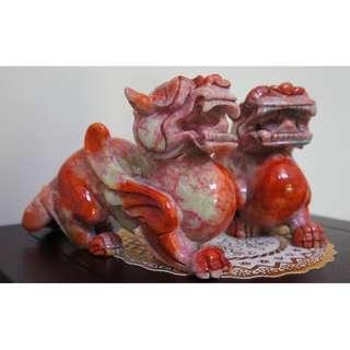 Feng Shui Jade Ornaments PiXiu 老玉貔貅
