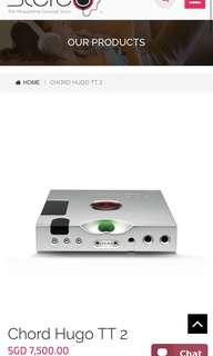Chord Electronics Hugo TT2 dac amp amplifier
