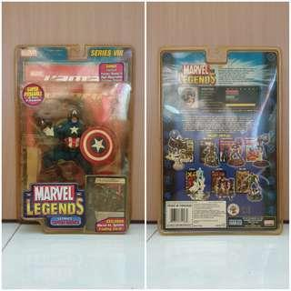 MOC Marvel Legends Captian America Series 8 2002