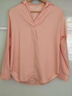 🚚 Pink Blouse