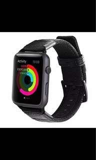 Apple Watch Black Army Strap 44mm 42mm