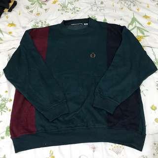 Vintage Tricolor Sweatshirt